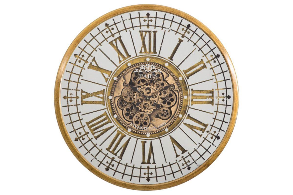 Golden Gears Wall Clock from Gardner-White Furniture