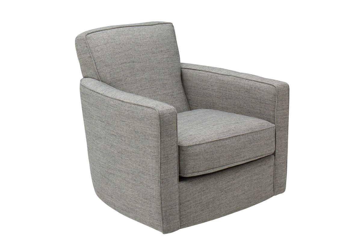 Pebble Swivel Accent Chair by Bauhaus from Gardner-White Furniture
