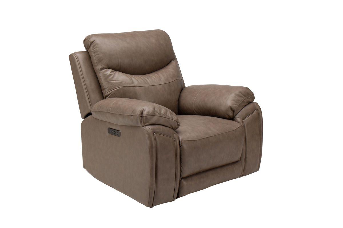 Remsen Leather Power Recliner from Gardner-White Furniture