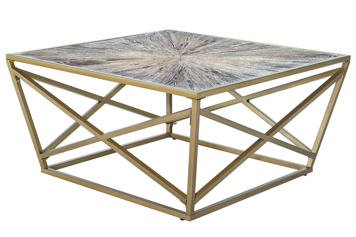 Ash Square Cocktail Table from Gardner-White Furniture