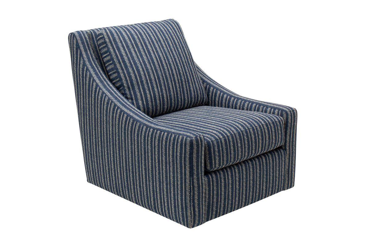 Priscilla Accent Swivel Chair  by Bauhaus from Gardner-White Furniture