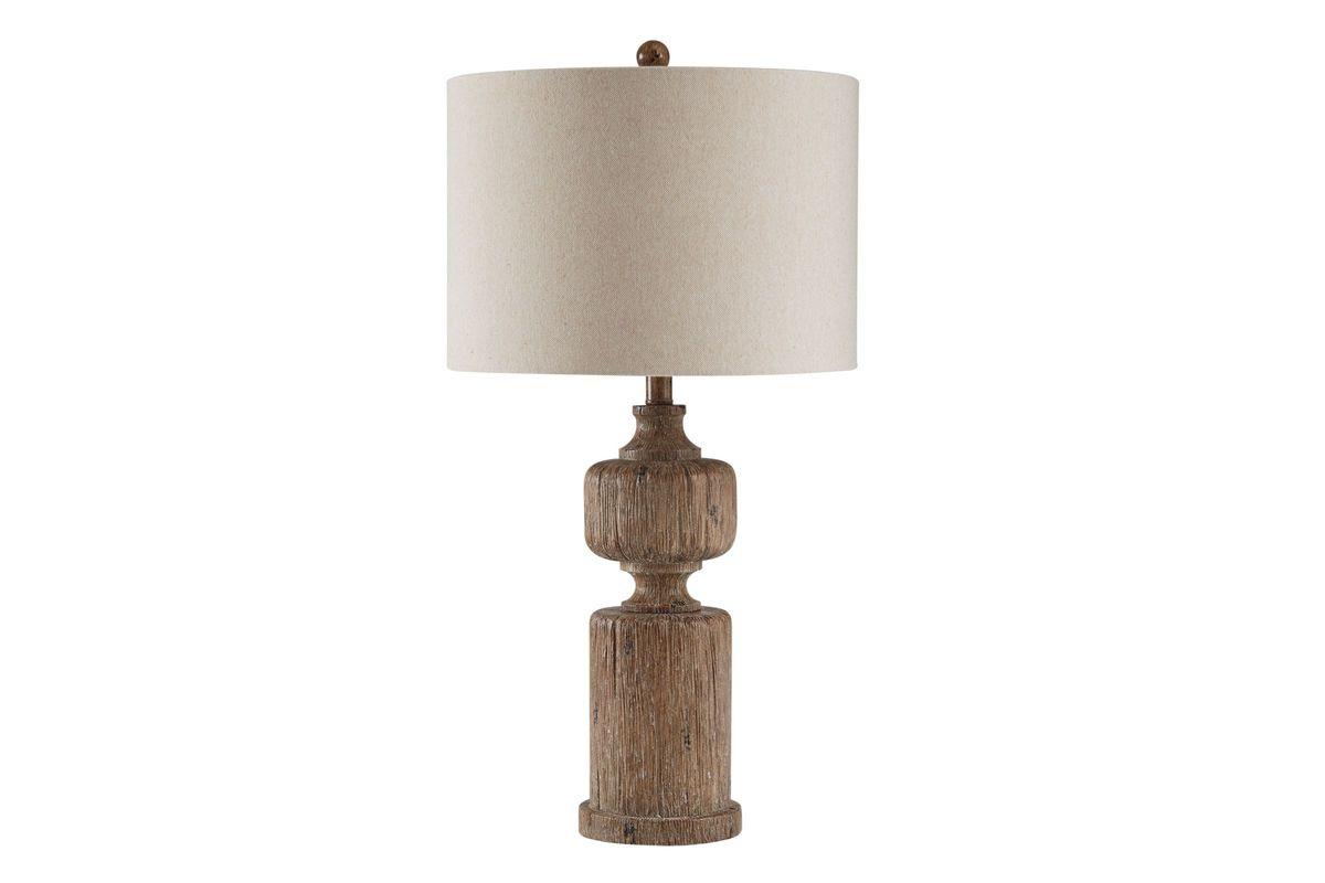 Driftwood Table Lamp from Gardner-White Furniture
