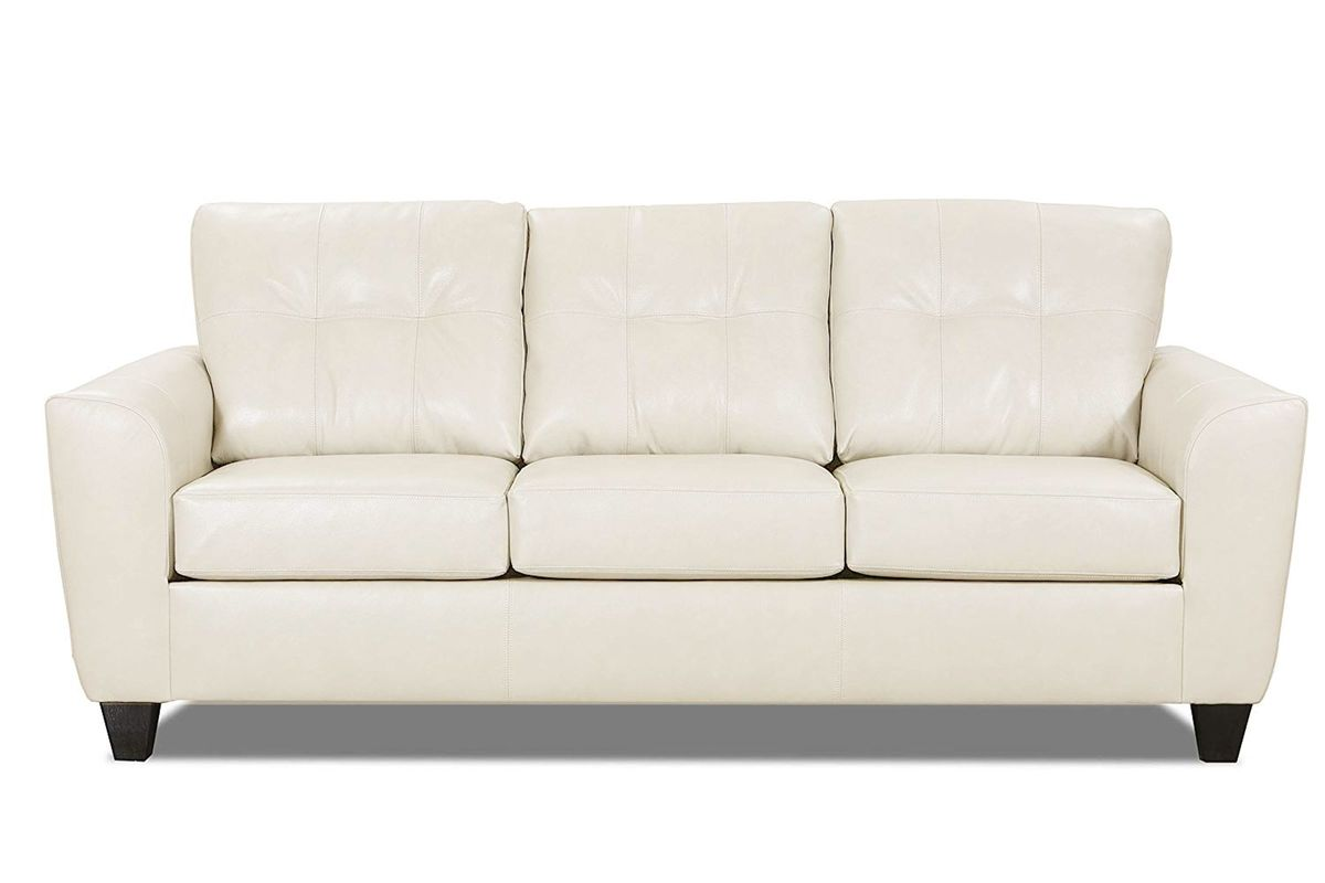 Cisco Leather Sofa from Gardner-White Furniture