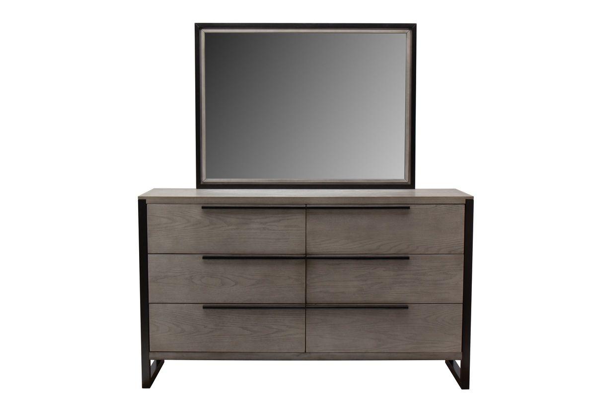 Jackson Dresser + Mirror from Gardner-White Furniture