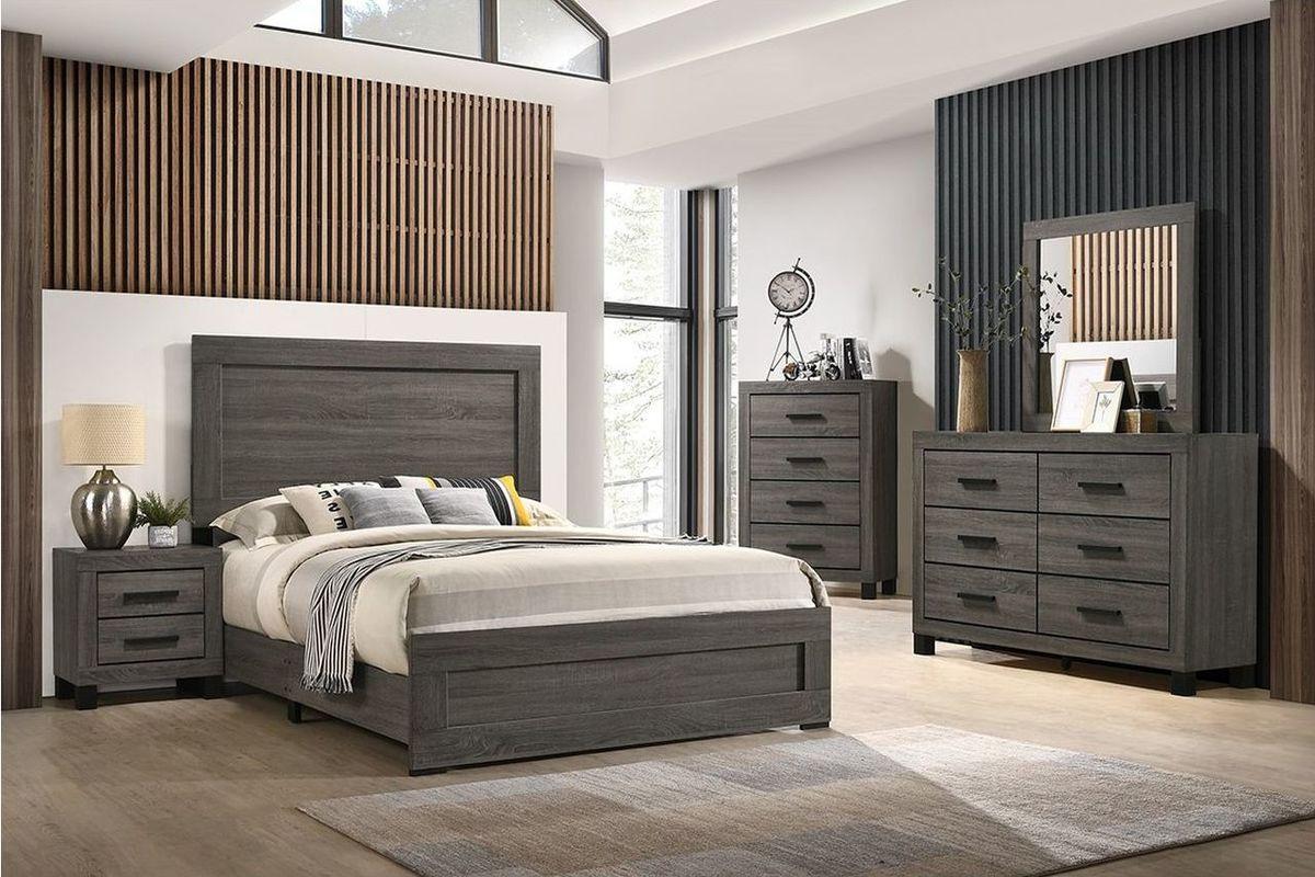 ethan 5-piece queen bedroom set at gardner-white