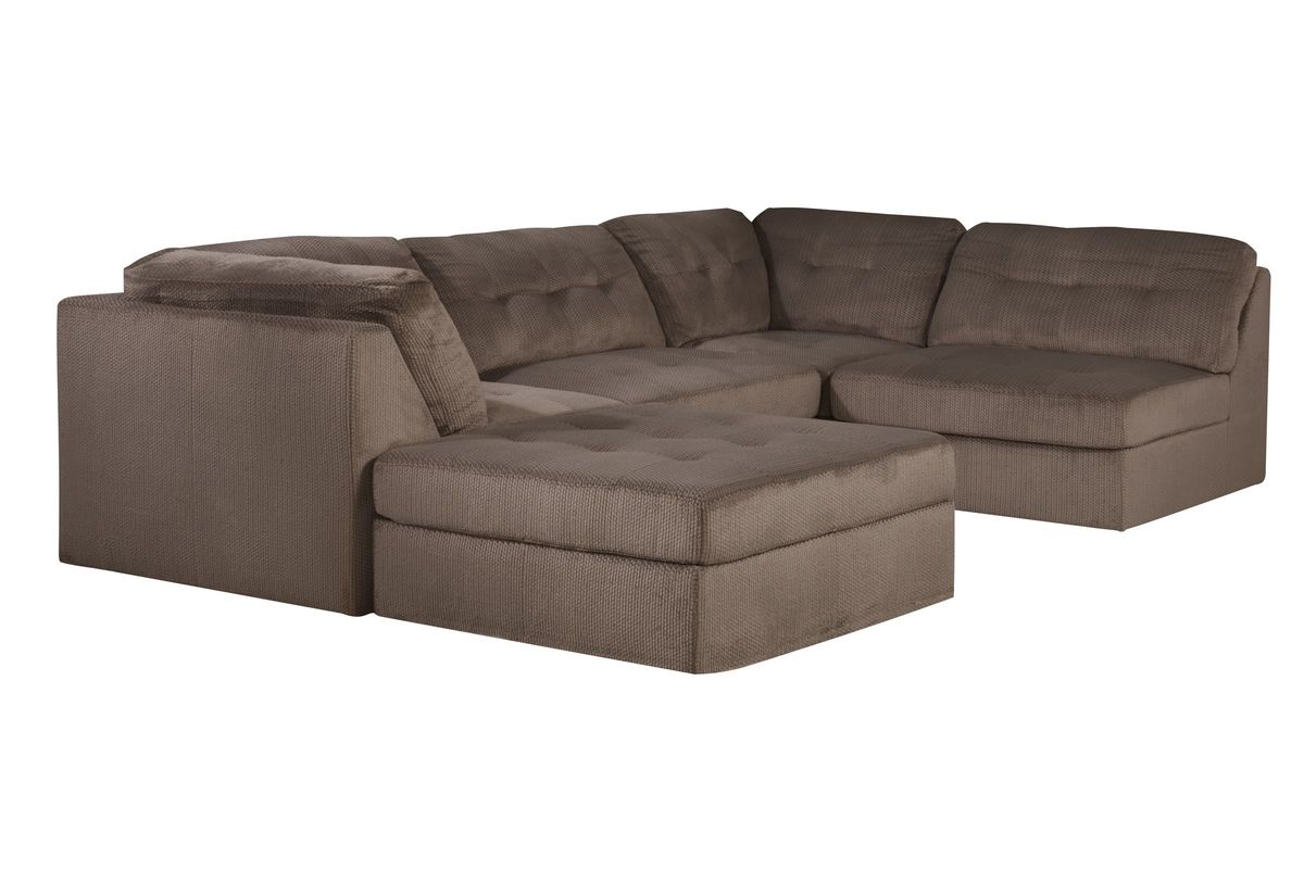 Havana Sectional + Ottoman from Gardner-White Furniture