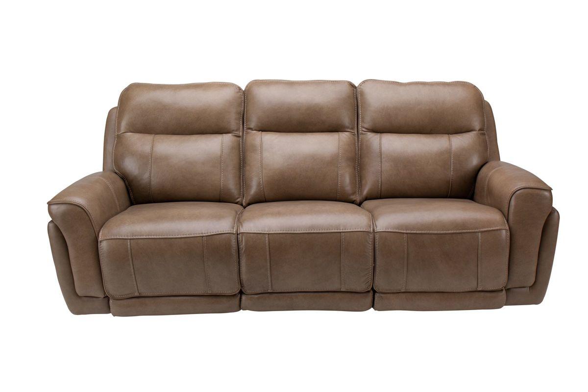 Benni Leather Power Reclining Sofa