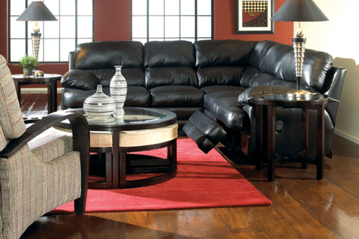 b186ac43e933ee Bermuda 3-Piece Leather Sectional from Gardner-White Furniture