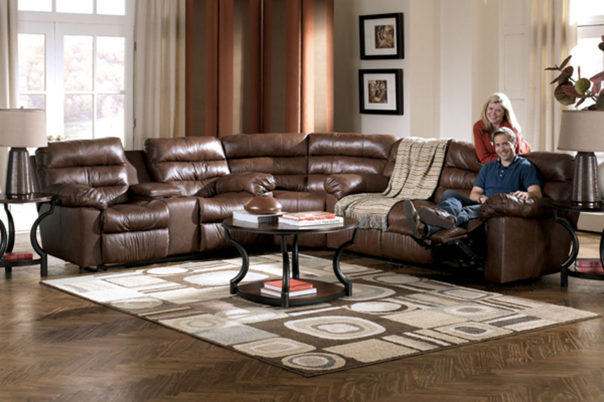80d747fa28e3d0 Memphis 3-Piece Reclining Leather Sectional from Gardner-White Furniture
