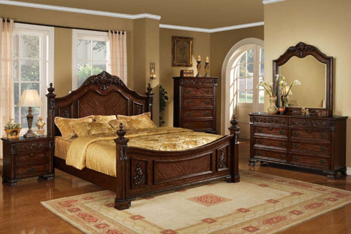 Lamont Queen Bed Dresser With Mirror Chest Nightstand