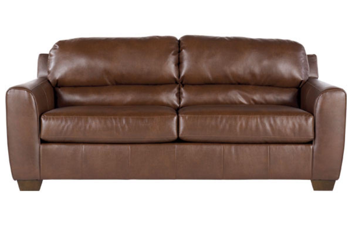 Bark Durablend Leather Sofa From Gardner White Furniture