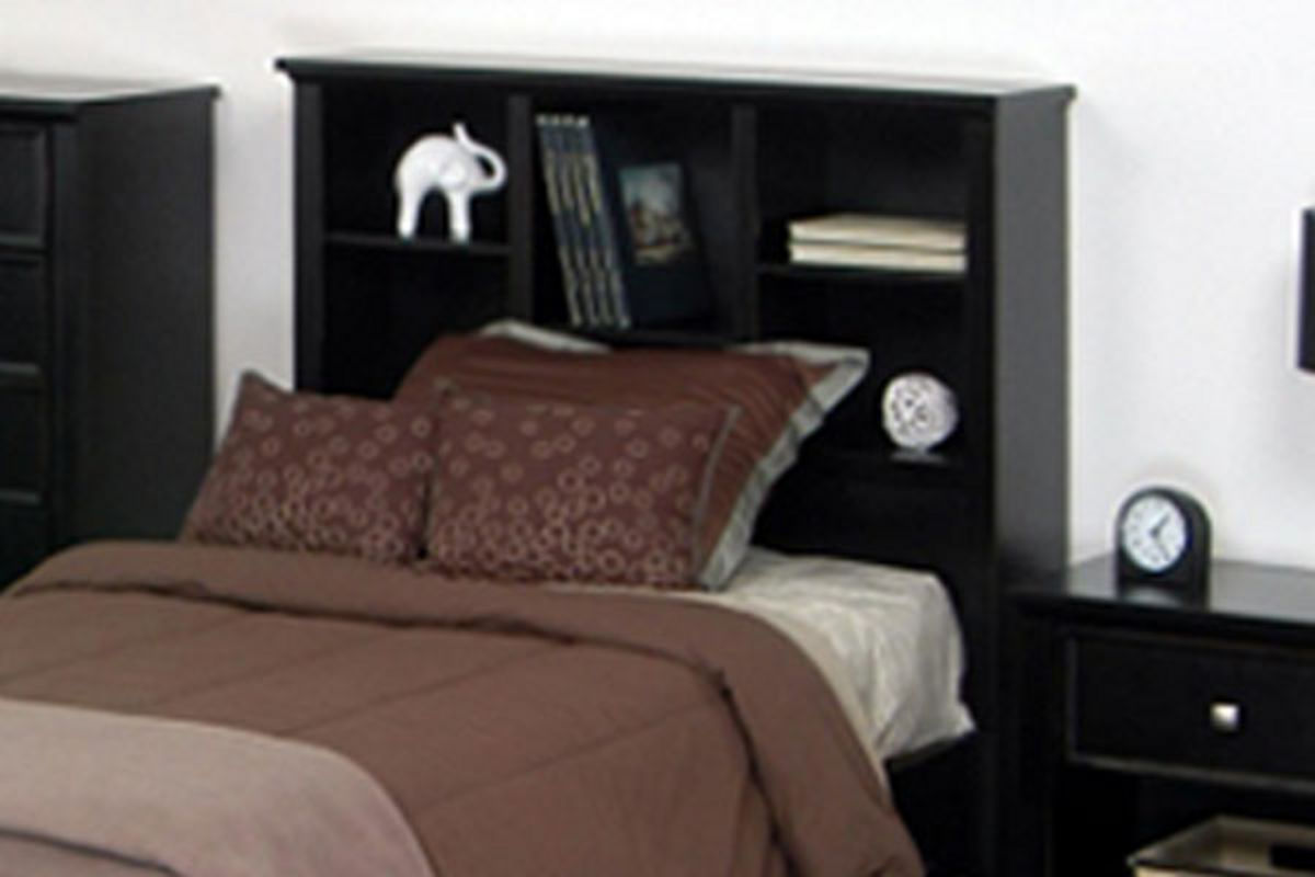 Kenny Full Size Bed With Library Headboard Amp Storage Footboard