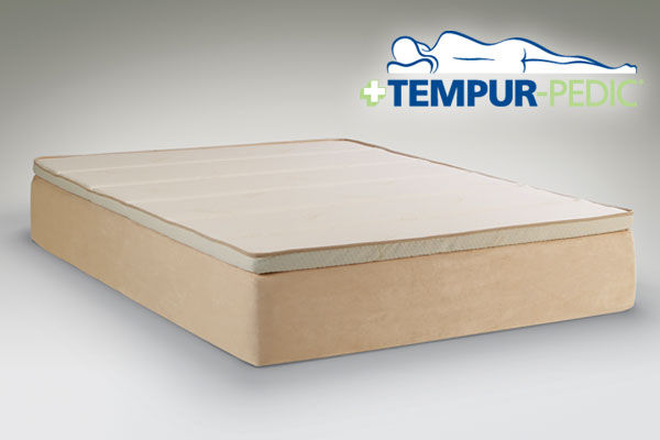 The AlluraBed by Tempur Pedic King Mattress