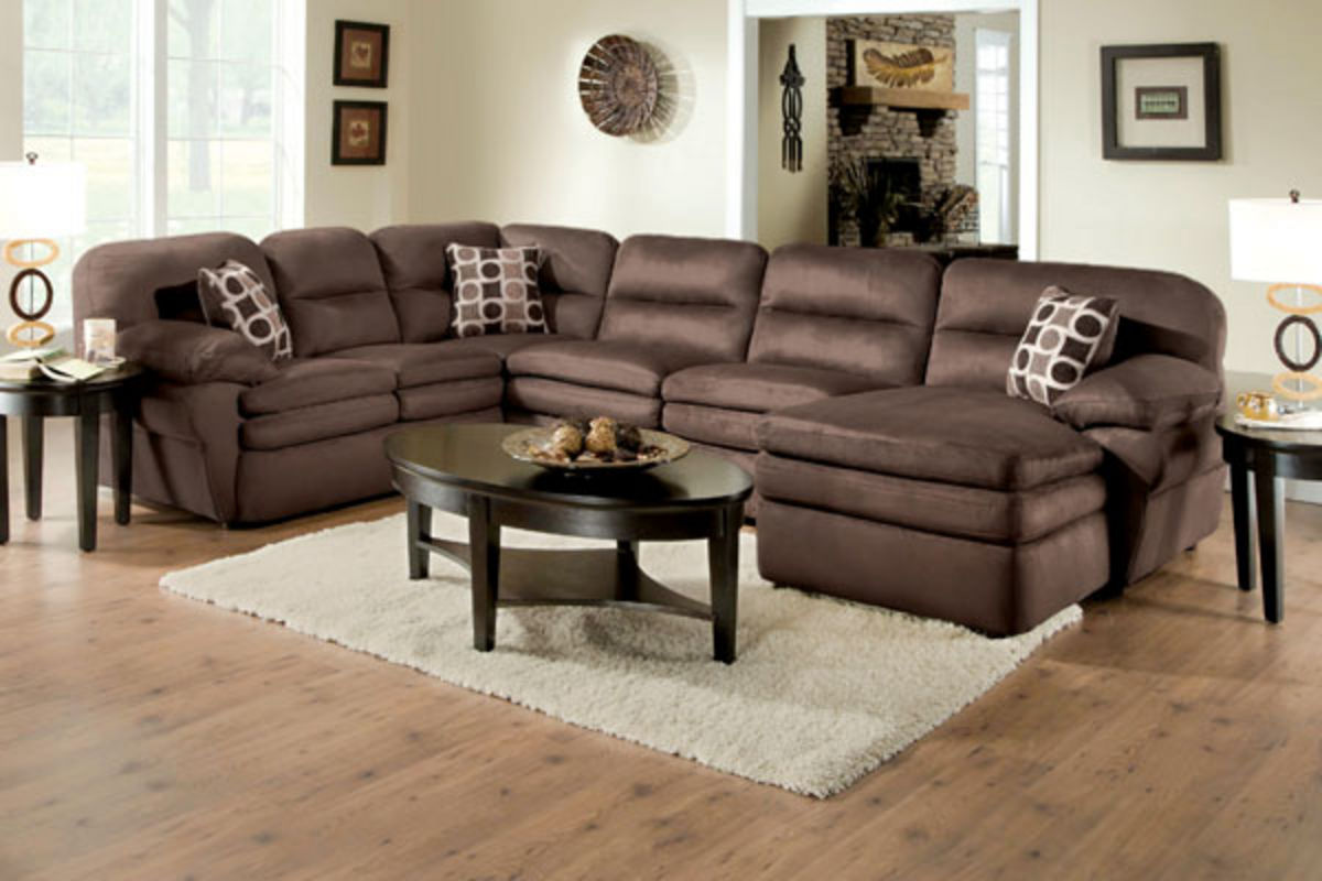 Bon Shiloh 3 Piece Microfiber Sectional From Gardner White Furniture