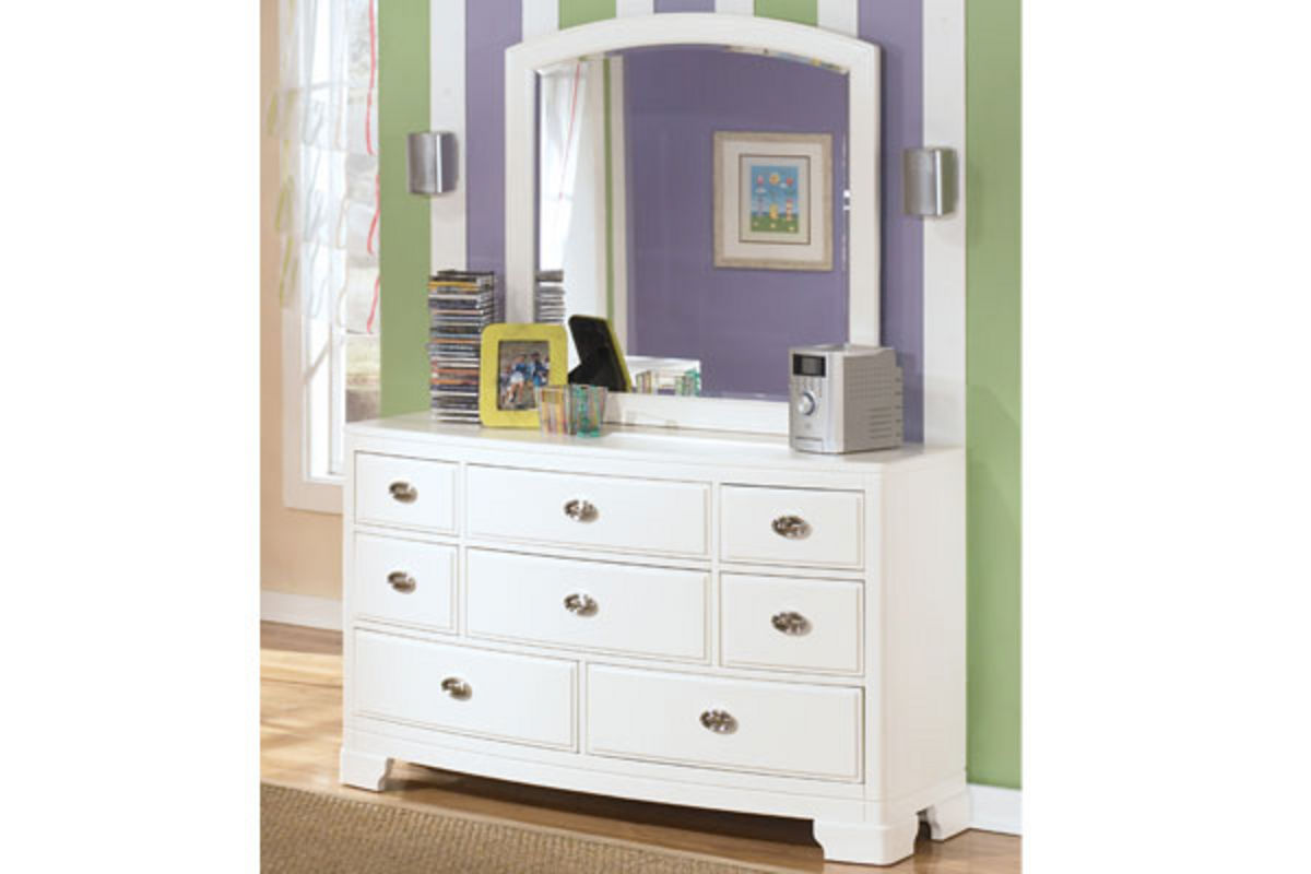 pink cabinet alyn size bed with storage dresser with mirror 24747