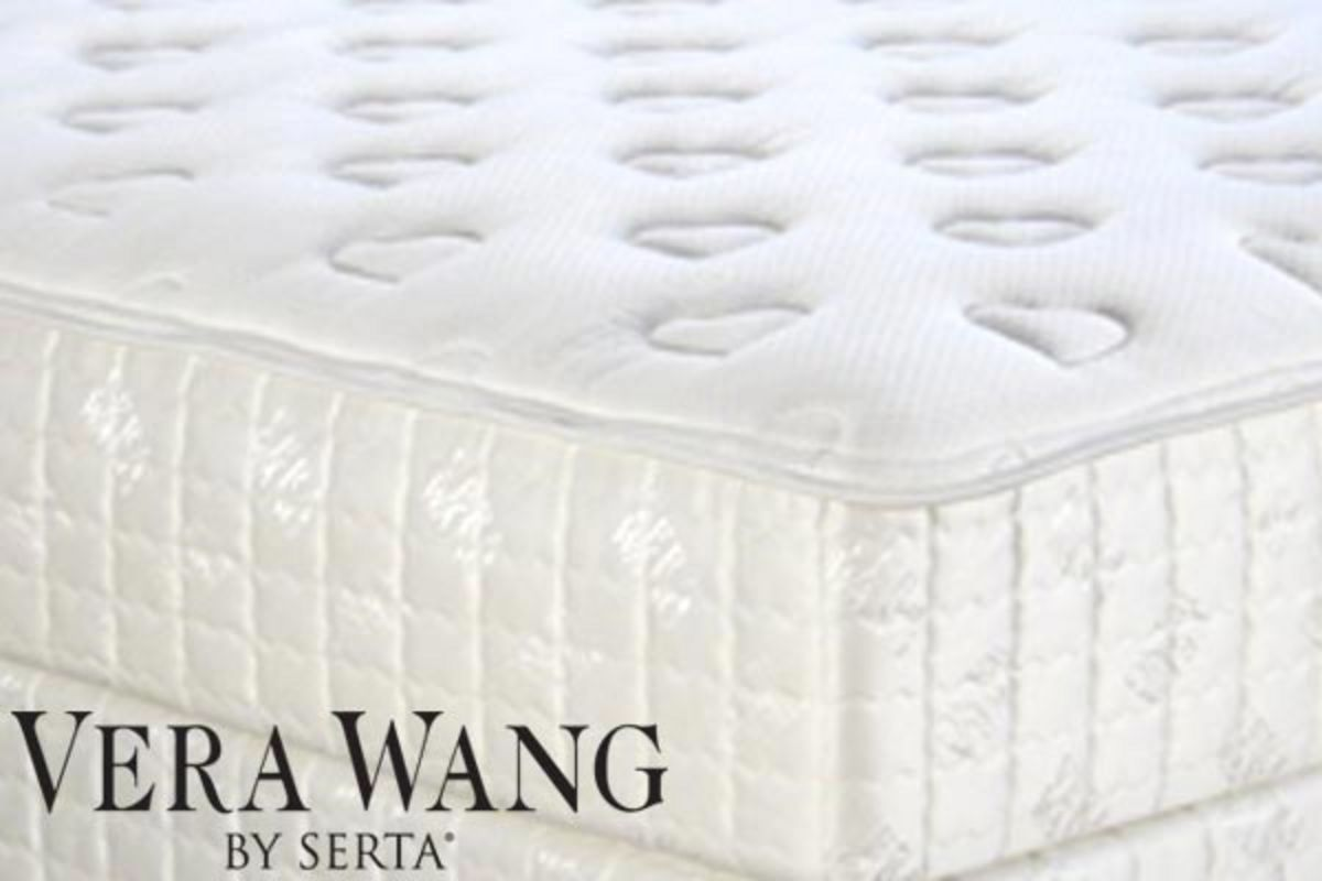 Serta Crystal By Vera Wang Eurotop Plush King Size At