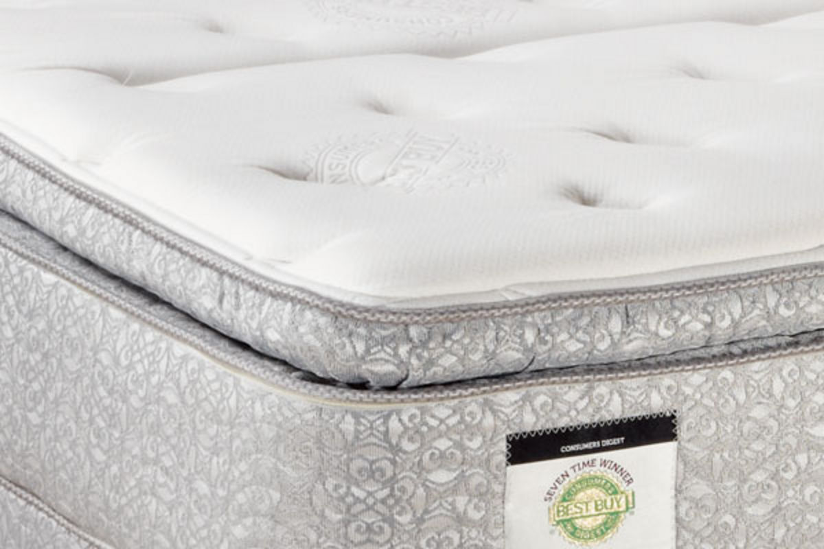 Captiva Plush Pillowtop Queen Mattress from Gardner-White Furniture