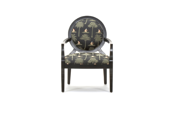 Surprising Black Palm Tree Accent Chair Caraccident5 Cool Chair Designs And Ideas Caraccident5Info