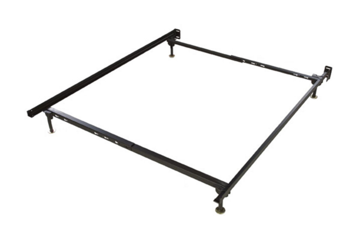 Twin full metal bed frame at gardner white for Cheap metal twin bed frame