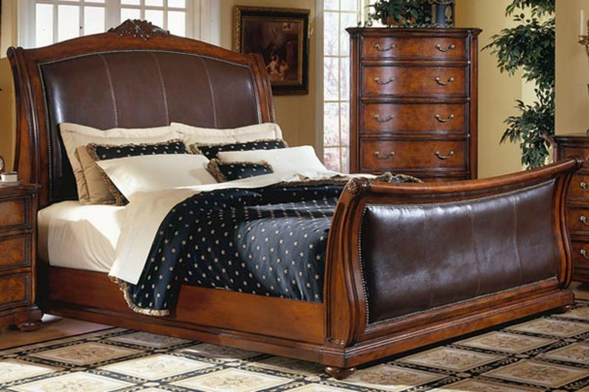Ss King Sleigh Bed