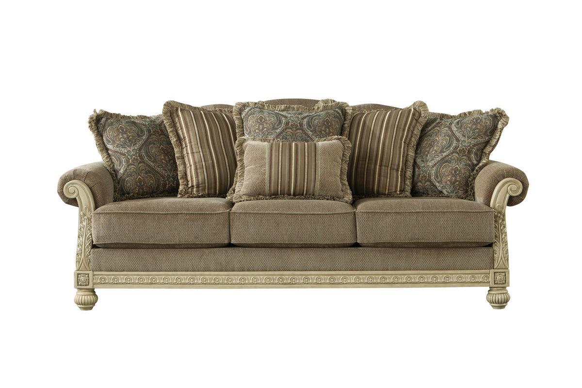 Superbe Baypark Chenille Sofa From Gardner White Furniture