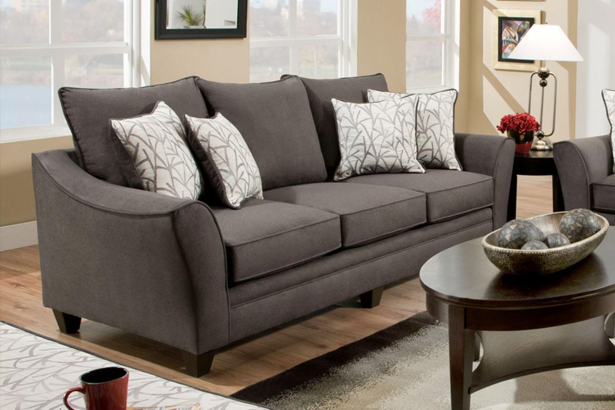 . Cosmo Microfiber Sofa