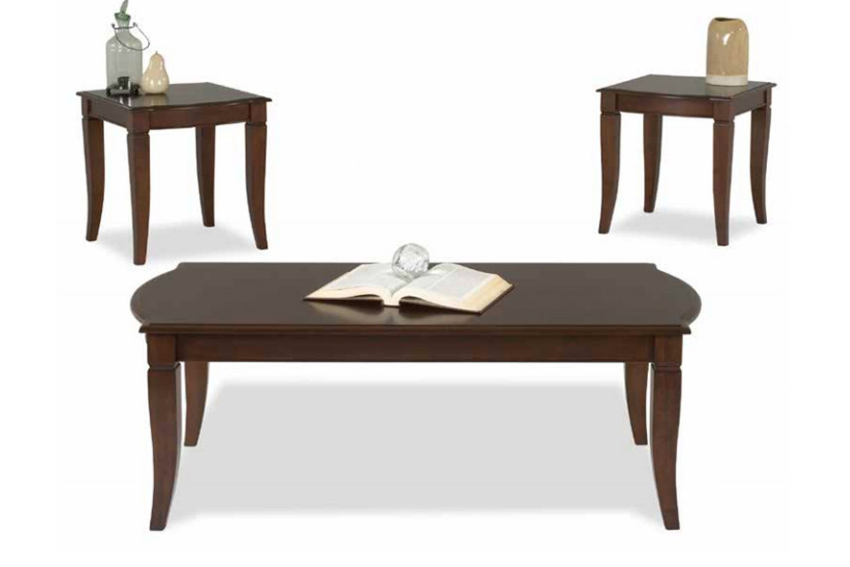 Cherry Cocktail Table 2 End Tables At Gardner White