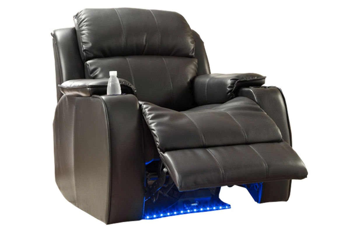 Superieur Black Power Massage Recliner From Gardner White Furniture
