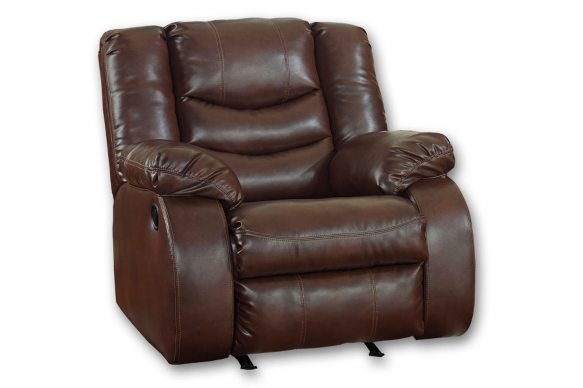 Eden Leather Rocker Recliner At Gardner White