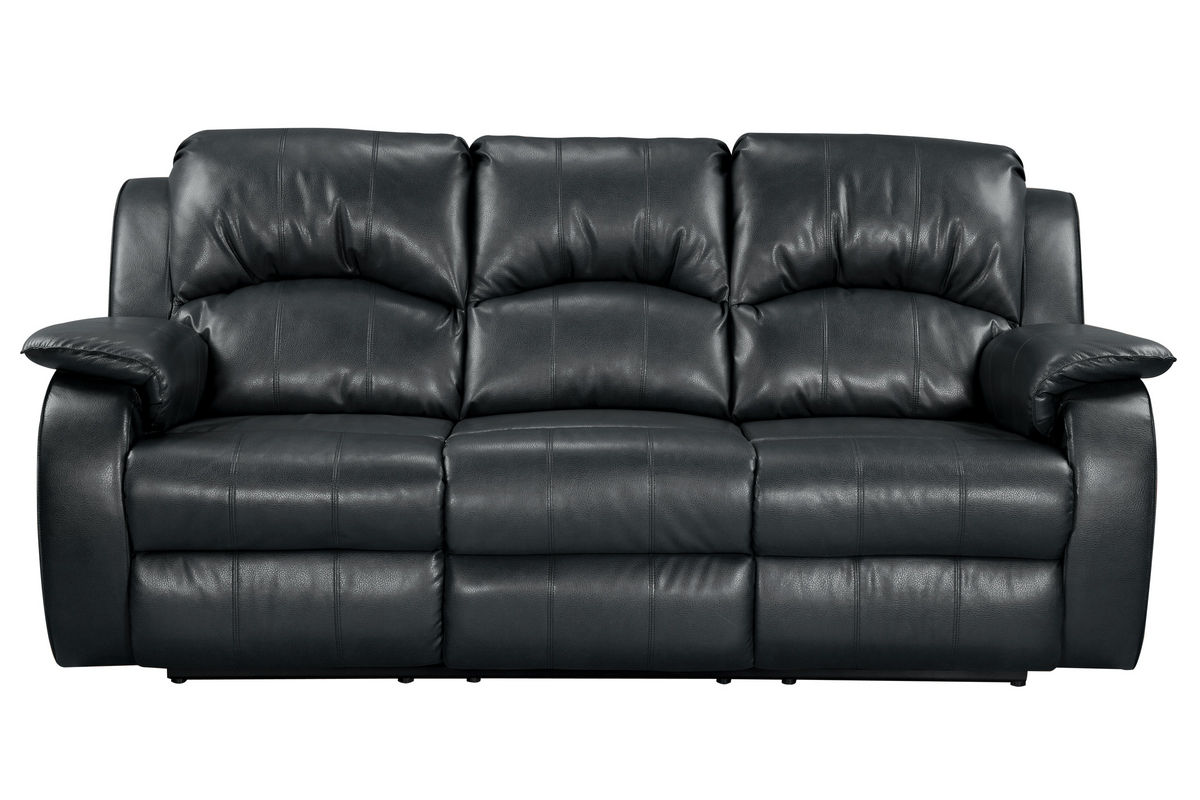 Tahoe Bonded Leather Reclining Sofa from Gardner-White Furniture