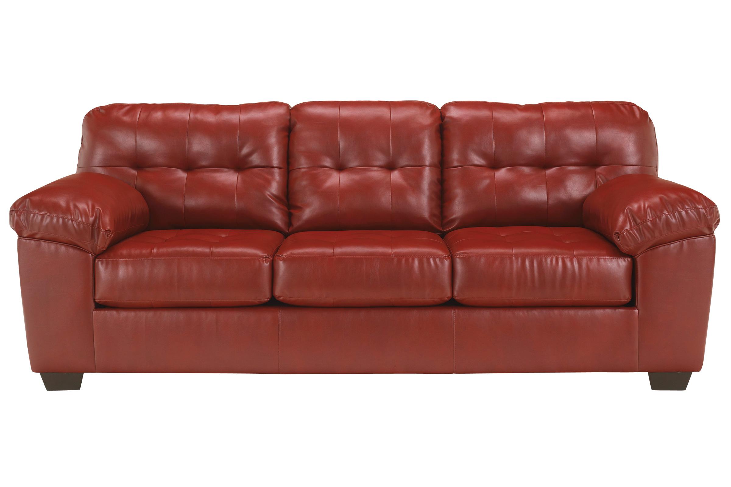 Vance Bonded Leather Sofa
