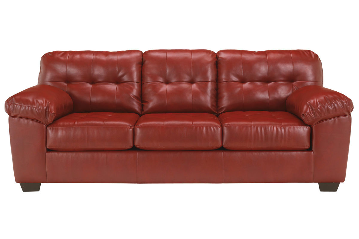 Salsa Bonded Leather Sofa From Gardner White Furniture