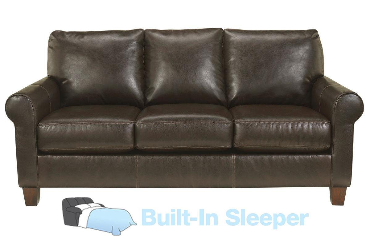 lakeside leather sleeper sofa from gardner white furniture