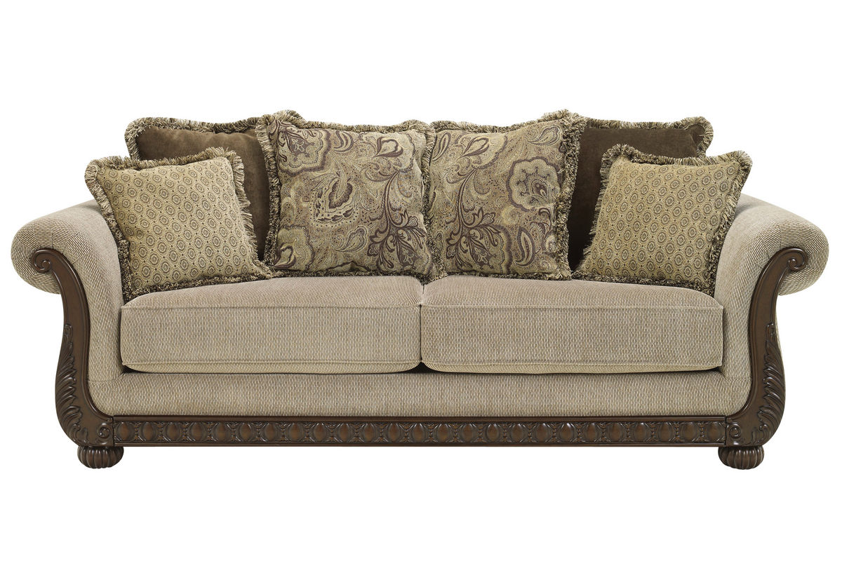 Gracie chenille sofa at gardner white
