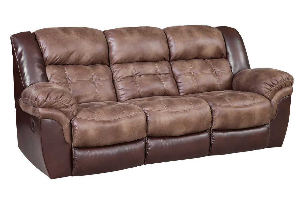 Fenway Microfiber Reclining Sofa