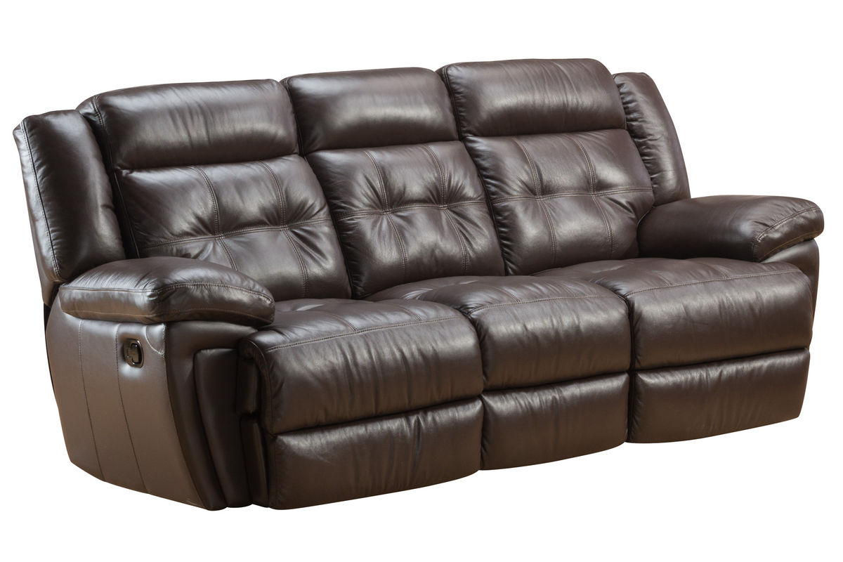 Brookside Leather Reclining Sofa From Gardner White Furniture