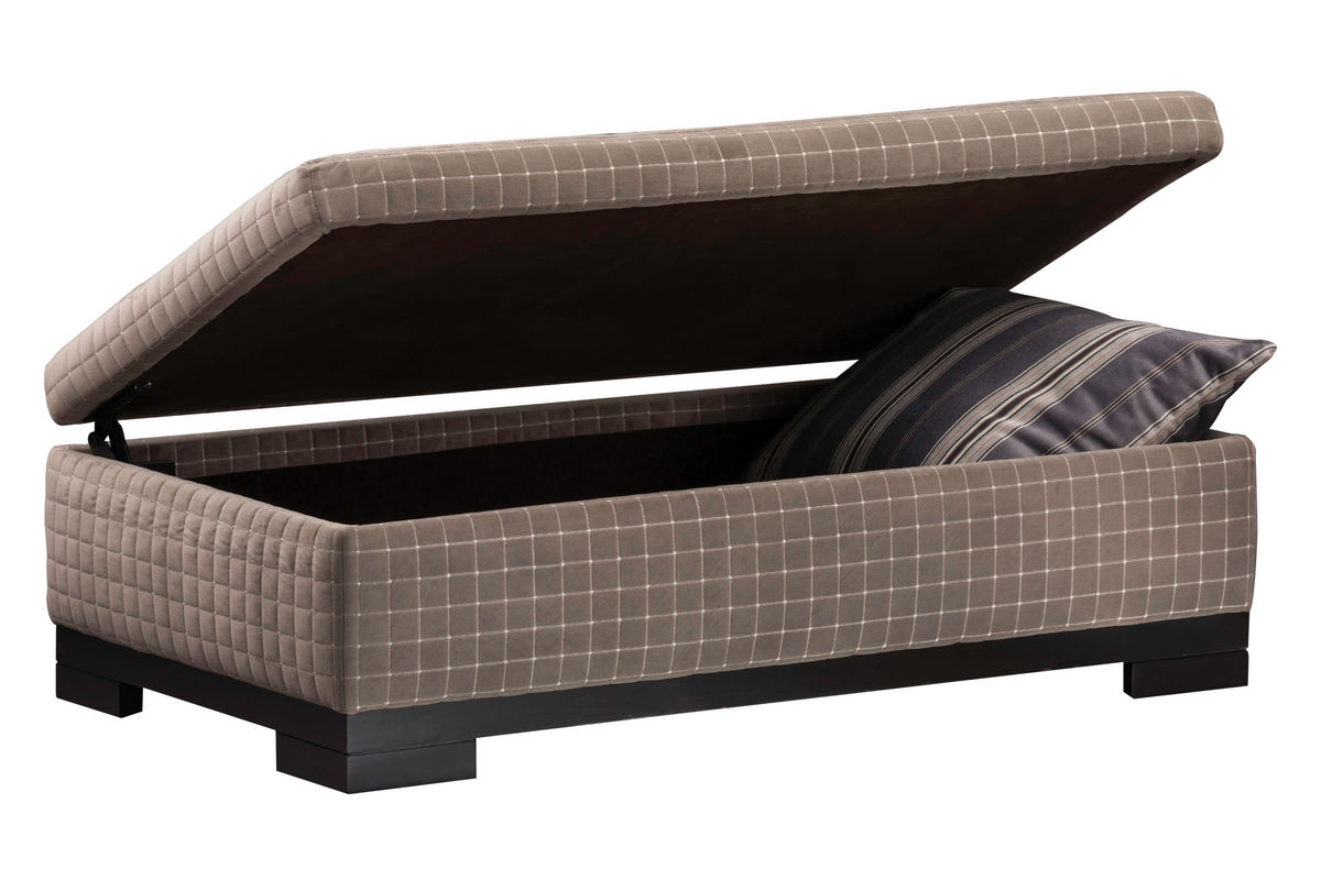 Carlin cubix storage ottoman at gardner white for Gardner storage