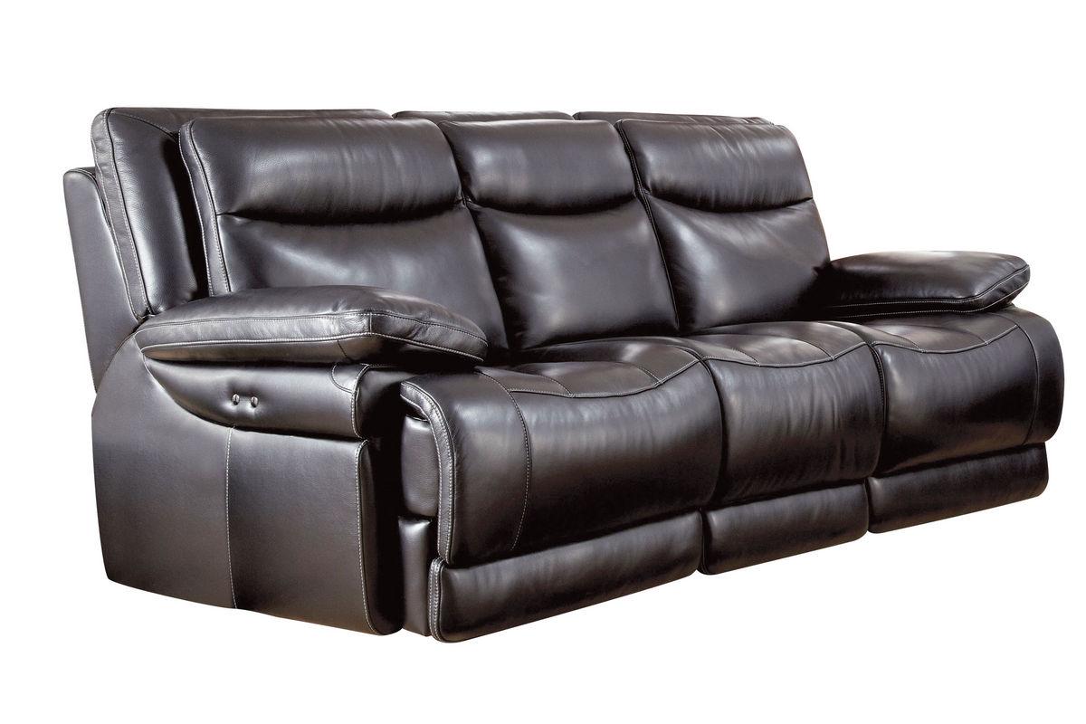 Jasper Leather Power Reclining Sofa At Gardner White