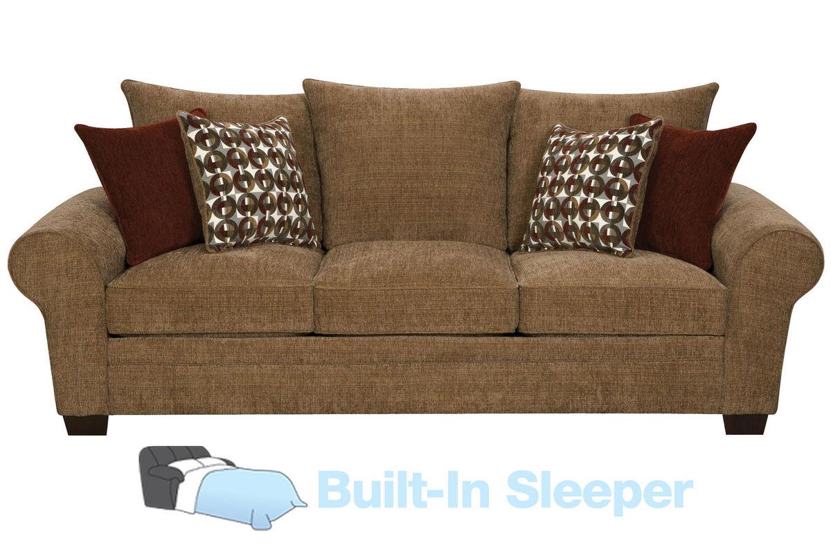 Resort Chenille Queen Sleeper Sofa At Gardner White