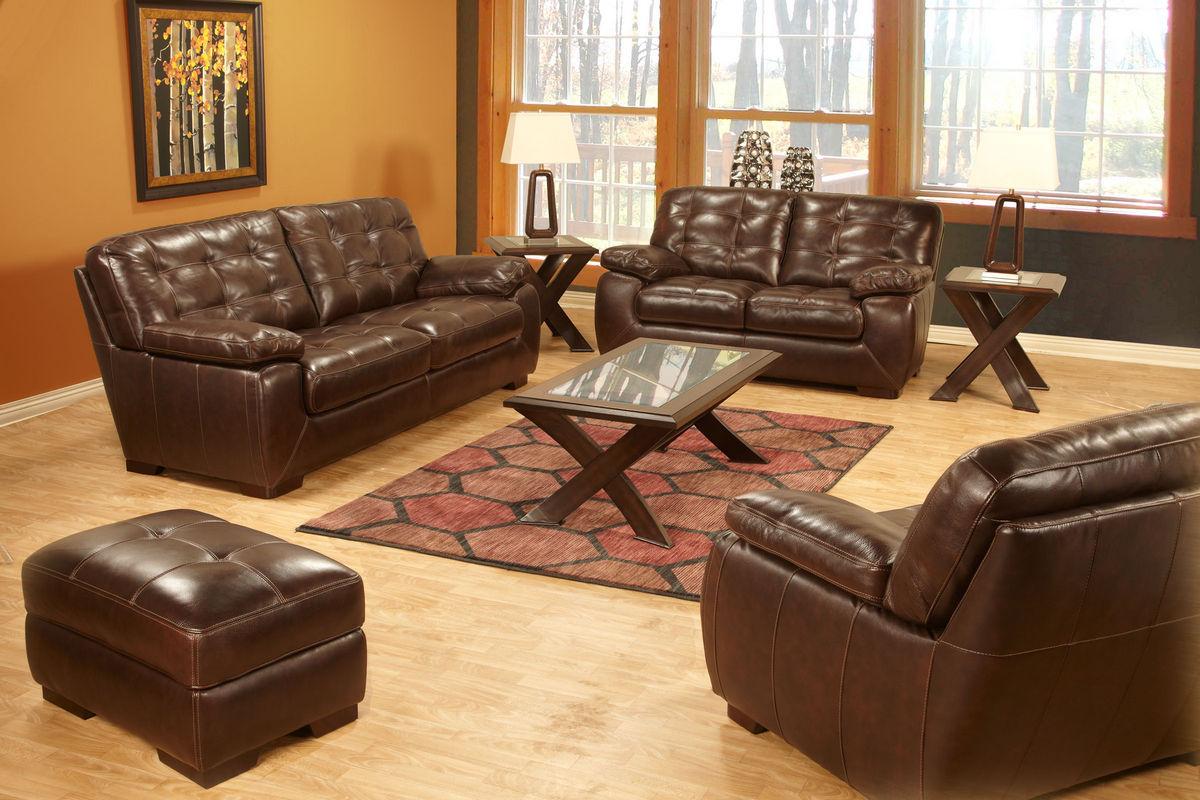 . Tiffany Leather Sofa