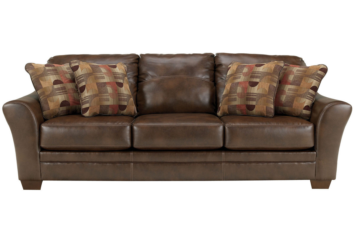Barclay Leather Sofa From Gardner White Furniture