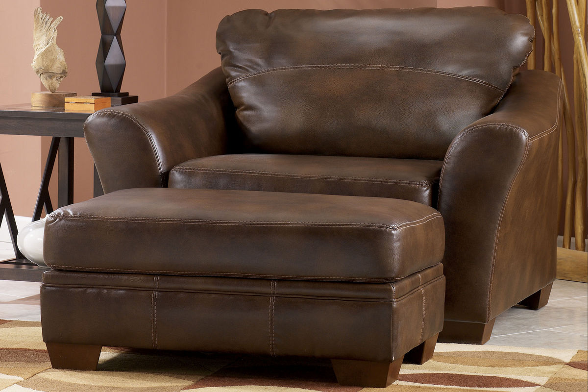 Barclay Over Sized Leather Chair At Gardner White