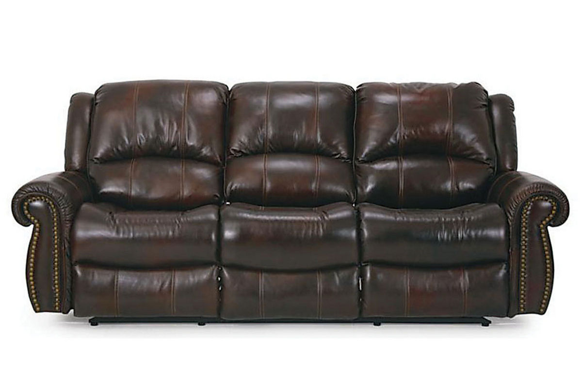 Dallas leather power reclining sofa at gardner white for Leather reclining sofa
