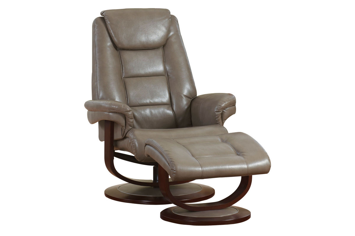 Groovy Galina Leather Reclining Chair Foot Stool Ibusinesslaw Wood Chair Design Ideas Ibusinesslaworg