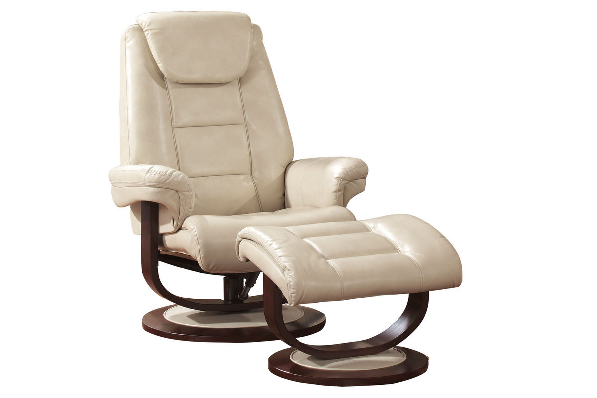 Tremendous Talin Leather Reclining Chair Foot Stool Ibusinesslaw Wood Chair Design Ideas Ibusinesslaworg