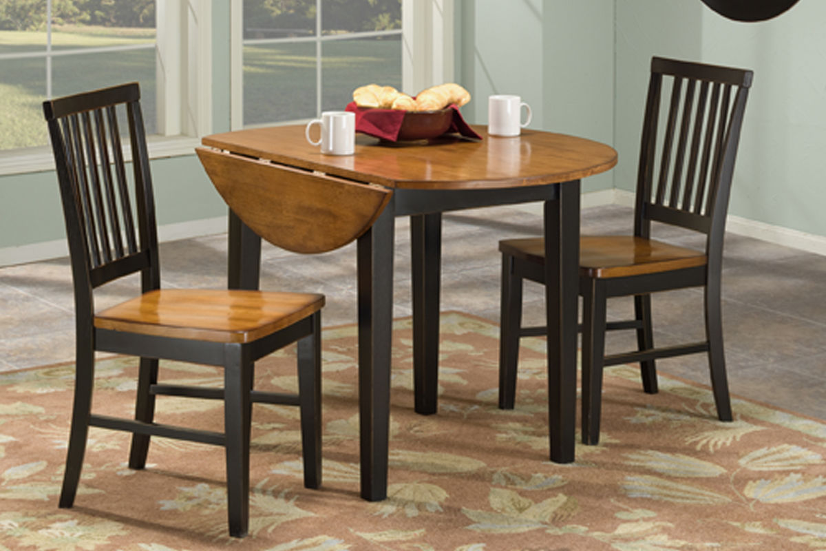Arlington Drop Leaf Table U0026 2 Side Chairs From Gardner White Furniture