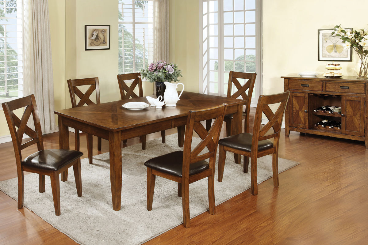 Lidia Dining Table 4 Side Chairs At Gardner White