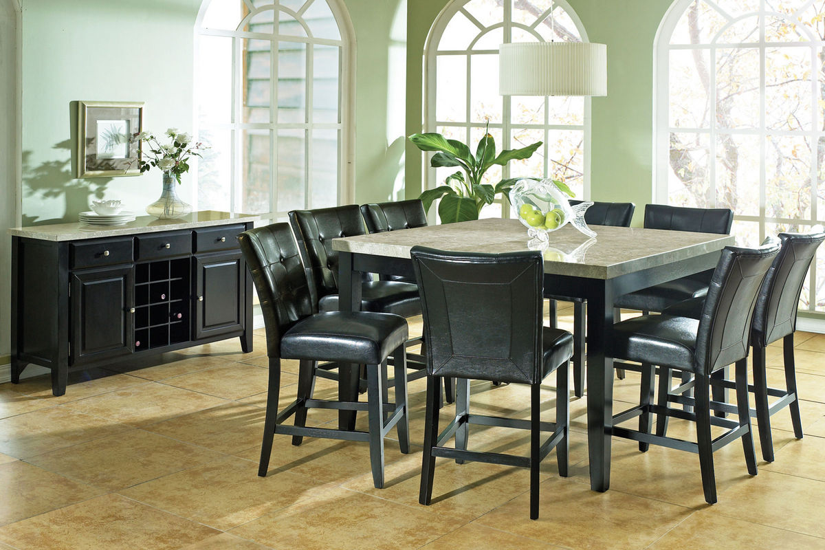 Monarch Gathering Table   8 Stools from Gardner White Furniture. Monarch Gathering Table   8 Stools