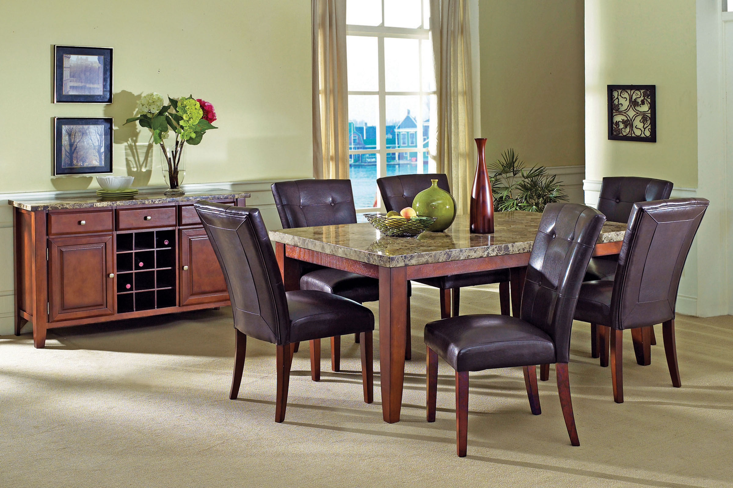 uk availability b5ebb ab861 Montibello Dining Table + 4 Chairs