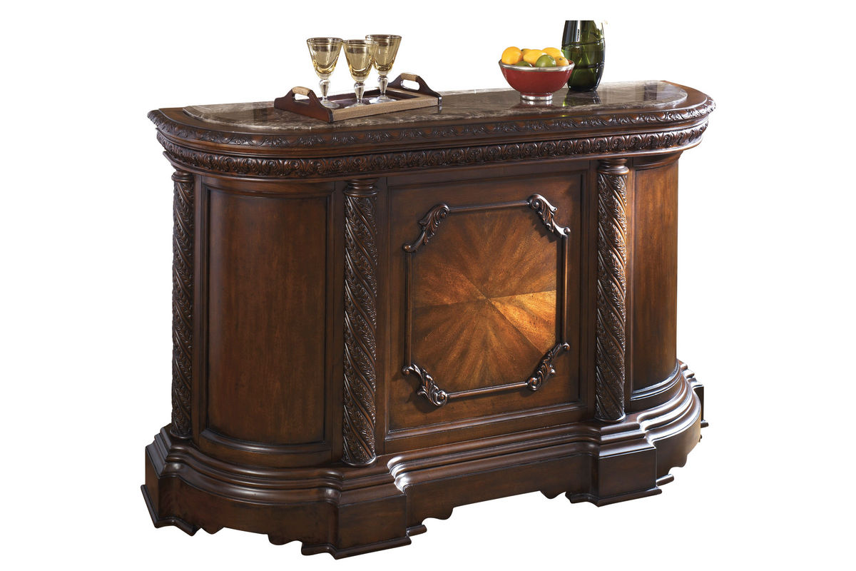 North Marble Top Bar from Gardner-White Furniture